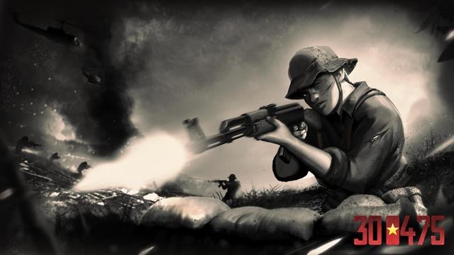 Cha đẻ 7554 công bố dự án game mới, lấy đề tài giải phóng miền Nam với tên gọi 300475 - Ảnh 2.