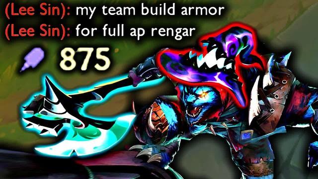 Học chơi Rengar với các cao thủ Tốc Chiến, từ cách lên đồ và các combo skill đều có cả - Ảnh 3.