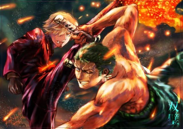 One Piece: Zoro bị thương nặng Koi4-16203826303521593751964