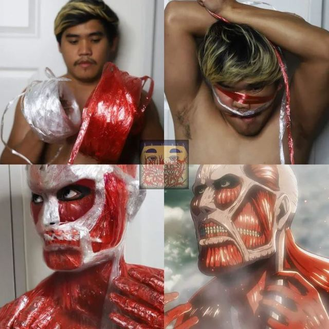 Attack on Titan: Ngắm cosplay Titan siêu lầy lội của anh chàng Thái Lan Low Cost Cosplay mà được khai nhãn - Ảnh 10.