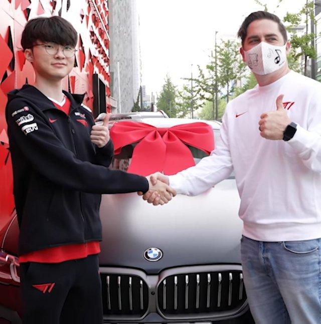 Vừa thi xong bằng lái xe, Faker đã được BMW tặng xế hộp tiền tỷ nhân dịp sinh nhật - Ảnh 3.