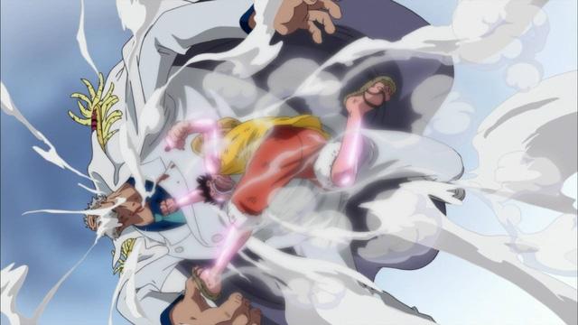 One Piece: Với sức mạnh hiện tại liệu Luffy đã đủ sức để hứng chịu cú đấm yêu thương của ông nội Garp? - Ảnh 3.