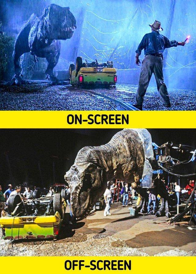 17 bức ảnh hậu trường phim Hollywood vén màn bí mật đằng sau các cảnh quay lừa hàng triệu khán giả - Ảnh 9.