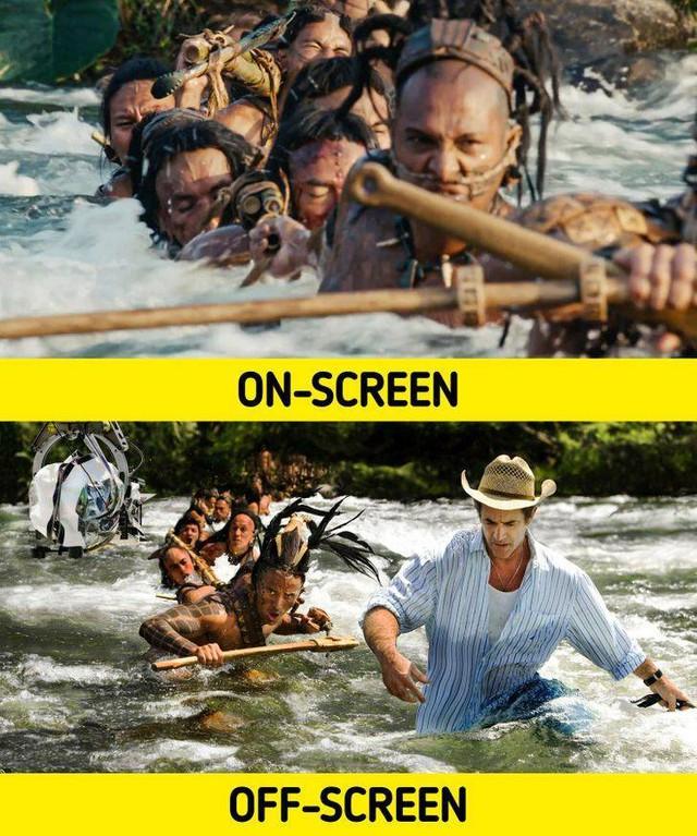 17 bức ảnh hậu trường phim Hollywood vén màn bí mật đằng sau các cảnh quay lừa hàng triệu khán giả - Ảnh 11.
