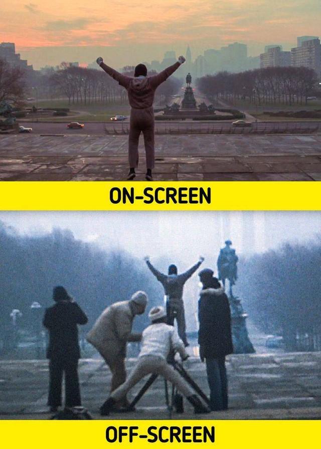 17 bức ảnh hậu trường phim Hollywood vén màn bí mật đằng sau các cảnh quay lừa hàng triệu khán giả - Ảnh 14.