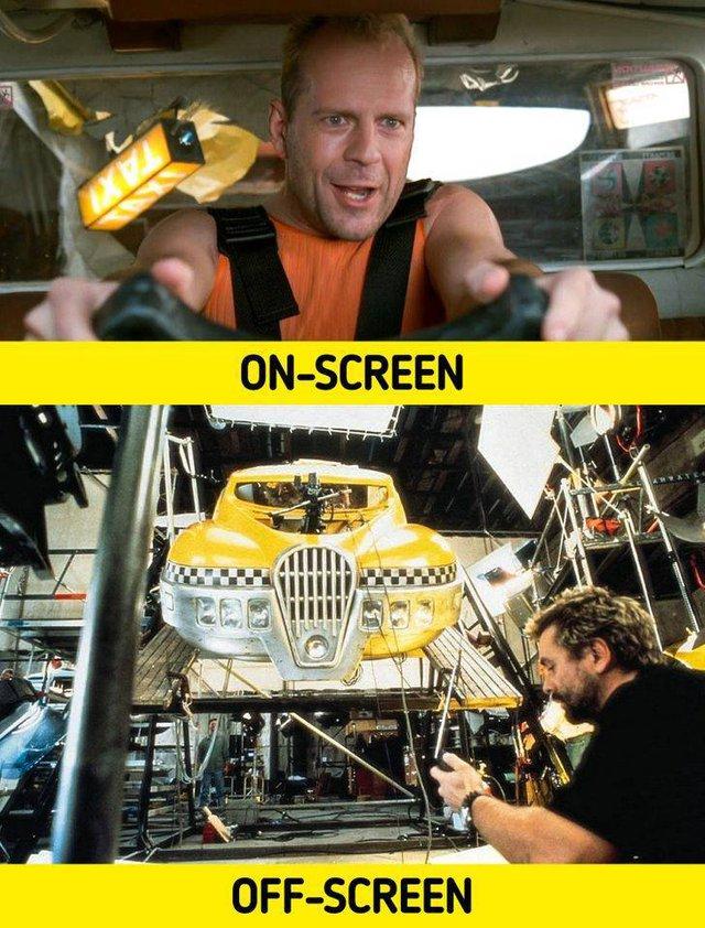 17 bức ảnh hậu trường phim Hollywood vén màn bí mật đằng sau các cảnh quay lừa hàng triệu khán giả - Ảnh 3.