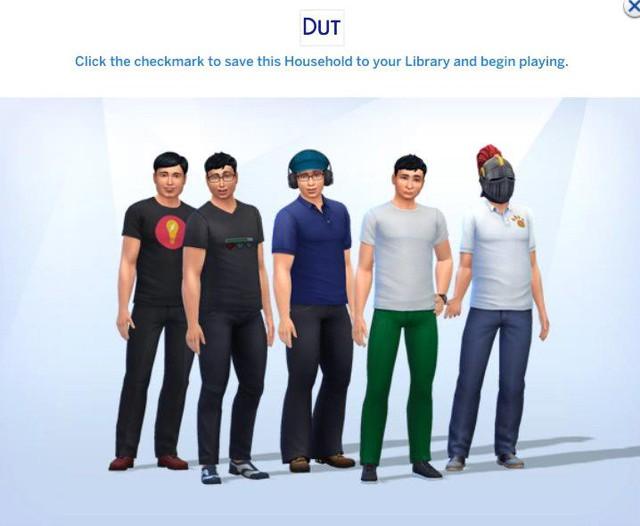 Dũng CT và Team Đụt bất ngờ được Fan tái tạo lại trong The Sims 4 - Ảnh 6.
