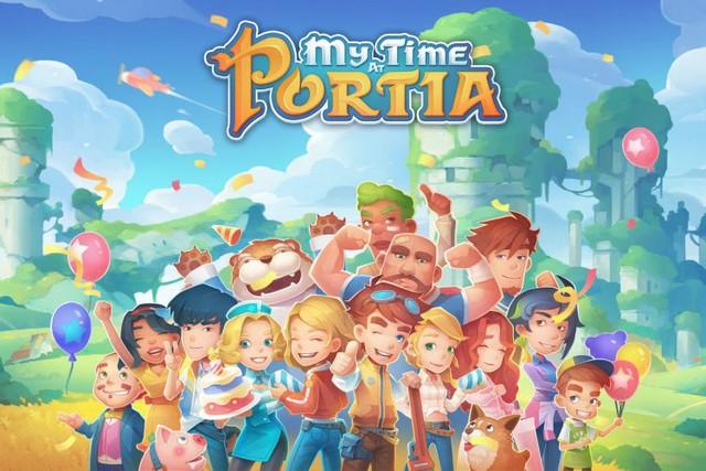Game tập làm nông dân My Time At Portia sắp có mặt trên nền tảng di dộng - Ảnh 1.