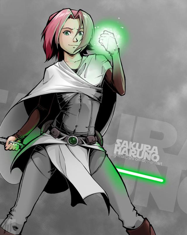 Lạ lẫm khi thấy các ninja trong Naruto tay cầm kiếm ánh sáng theo phong cách Star Wars - Ảnh 7.