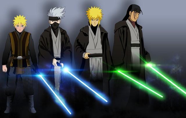 Lạ lẫm khi thấy các ninja trong Naruto tay cầm kiếm ánh sáng theo phong cách Star Wars - Ảnh 11.