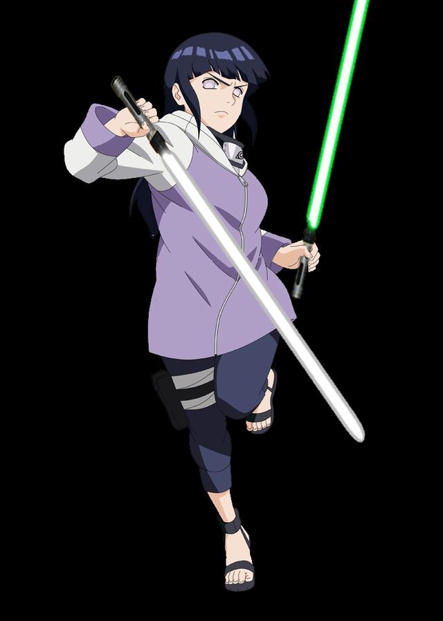 Lạ lẫm khi thấy các ninja trong Naruto tay cầm kiếm ánh sáng theo phong cách Star Wars - Ảnh 13.