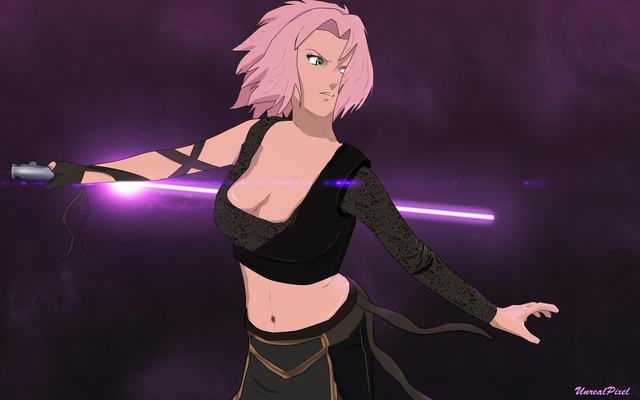 Lạ lẫm khi thấy các ninja trong Naruto tay cầm kiếm ánh sáng theo phong cách Star Wars - Ảnh 14.