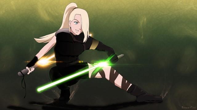 Lạ lẫm khi thấy các ninja trong Naruto tay cầm kiếm ánh sáng theo phong cách Star Wars - Ảnh 15.