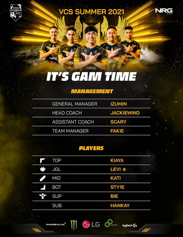 Lần đầu tiên trong lịch sử, GAM Esports giữ nguyên đội hình chính thức trong 2 mùa VCS liên tiếp - Ảnh 1.