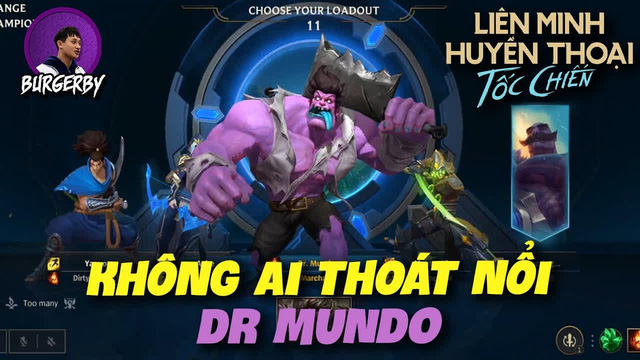 """Trong khi Mundo mới tại LMHT đang """"quậy tung nóc"""", số phận của Mundo của Tốc Chiến sẽ ra sao? - Ảnh 4."""