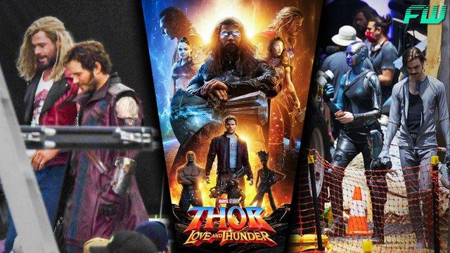 Cặp đôi tấu hài Thor và Star-Lord đăng ảnh tình tứ trong phần hậu trường Thor Love and Thunder - Ảnh 3.