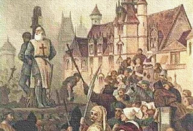 Lời nguyền khủng khiếp của hội Hiệp sĩ dòng Đền Jacques de Molay: Vua Pháp chịu họa tuyệt tự! - Ảnh 1.