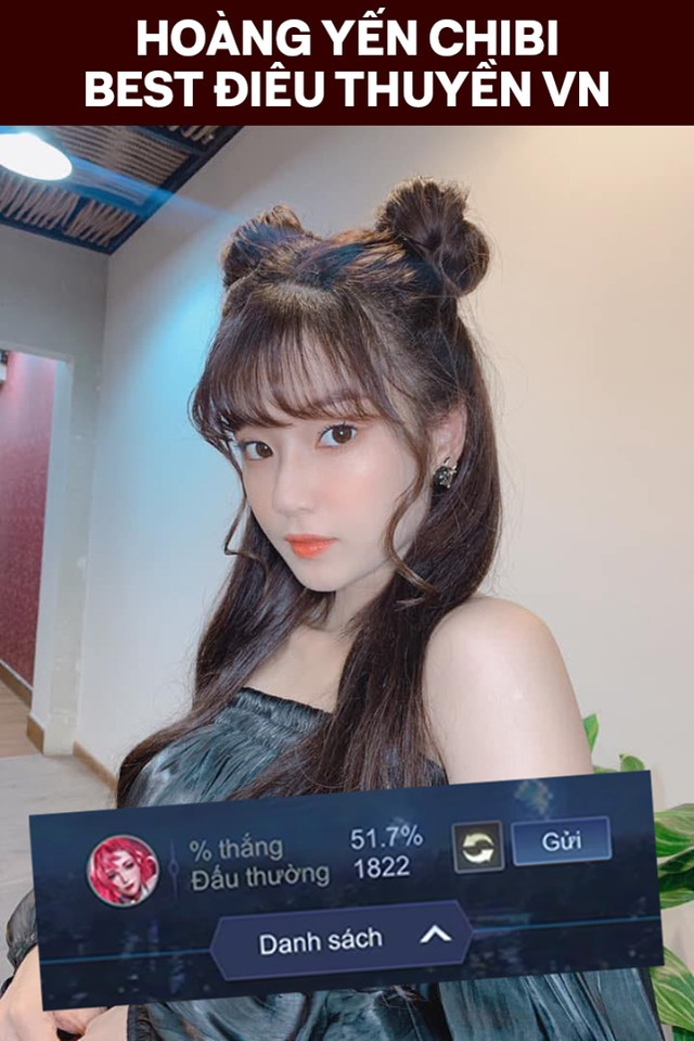 2000 trận chỉ chơi một tướng, girl 1 champ Hoàng Yến Chibi lột xác khoe body sexy, tâm hồn thì căng mọng - Ảnh 1.