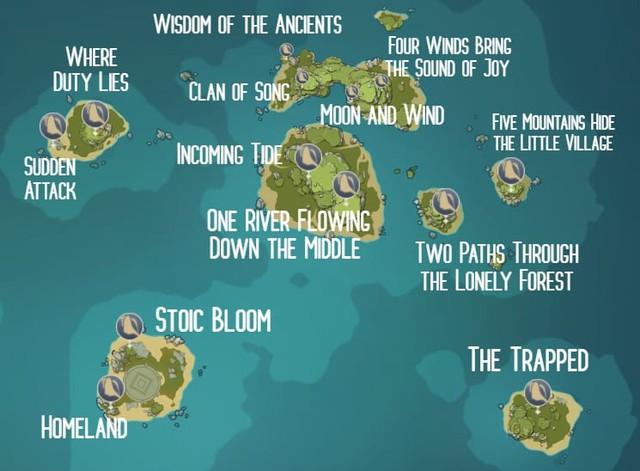 Genshin Impact Âm Thanh Vang Vọng: Vị trí chi tiết của ốc biển mà người chơi có thể thu thập - Ảnh 3.
