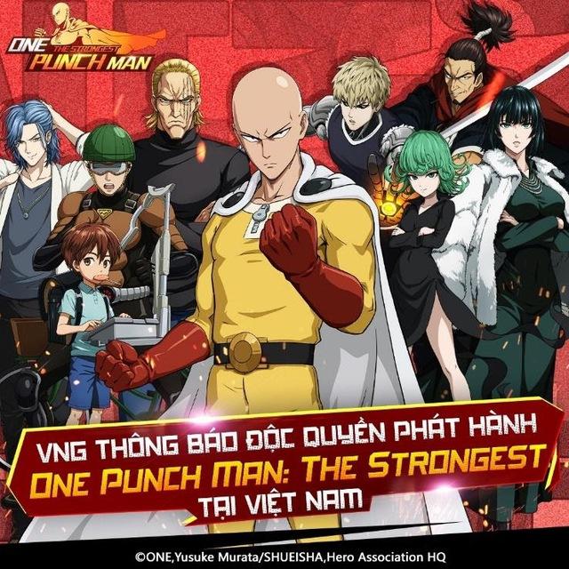 Game One Punch Man khiến người chơi ĐNÁ mê mẩn bất ngờ mở đăng ký trước tại VN, lộ diện ông lớn NPH đằng sau - Ảnh 1.