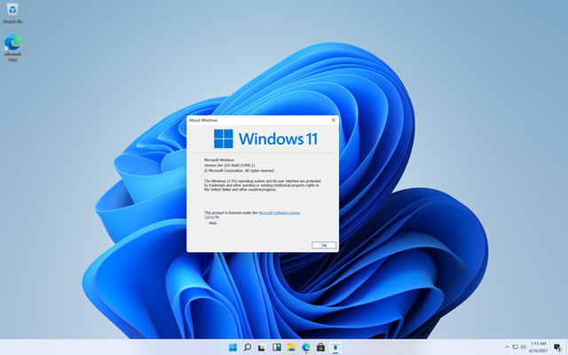 Đây là Windows 11 với giao diện hoàn toàn mới - Ảnh 1.