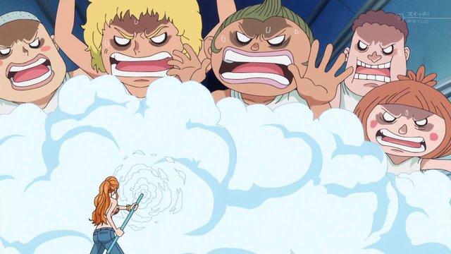 One Piece chap 1016: Năng lực của Zeus sau khi trở thành gậy Clima-Tact của Nami là gì? - Ảnh 3.