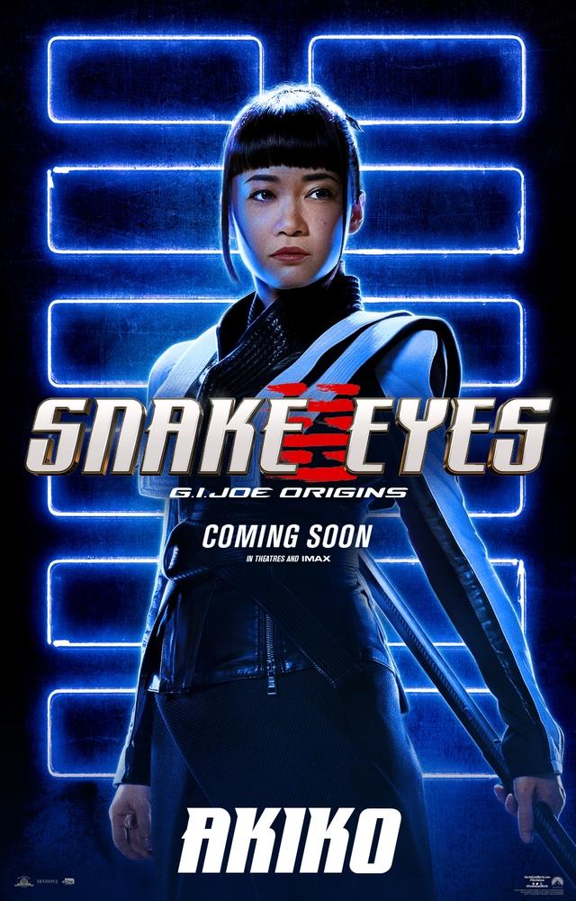 Bom tấn hành động Snakes Eyes: G.I.Joe Origins hé lộ tạo hình nhân vật của trai đẹp Henry Golding và dàn ninja cực ngầu - Ảnh 7.
