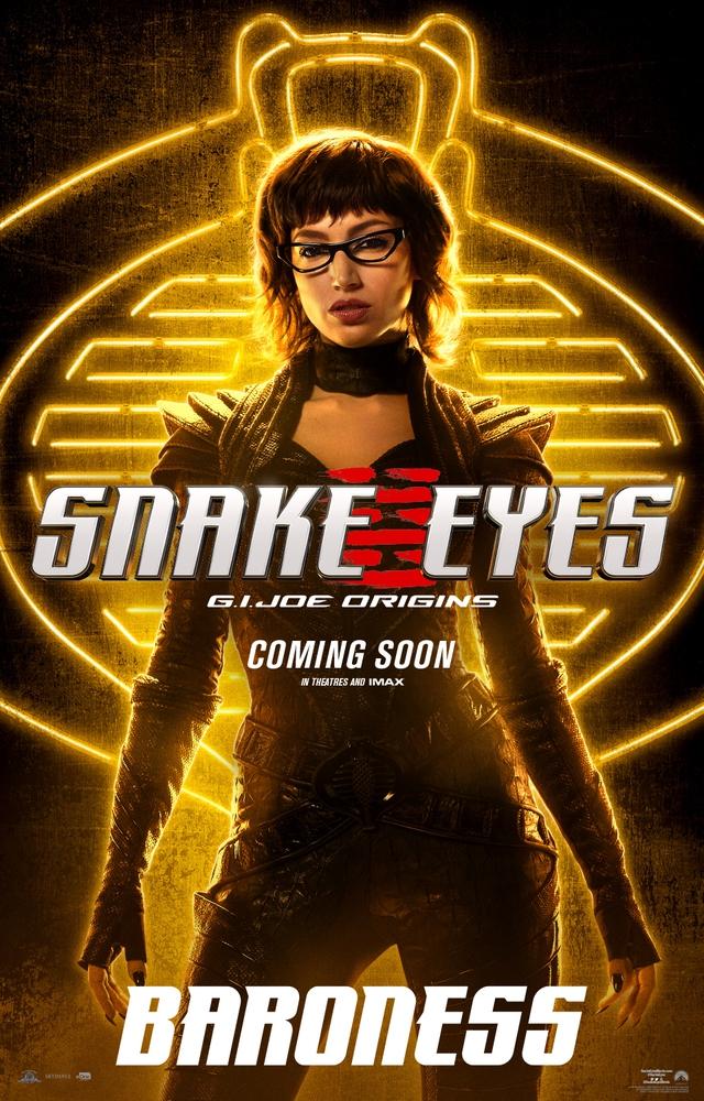 Bom tấn hành động Snakes Eyes: G.I.Joe Origins hé lộ tạo hình nhân vật của trai đẹp Henry Golding và dàn ninja cực ngầu - Ảnh 3.