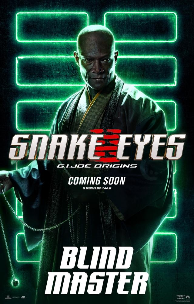 Bom tấn hành động Snakes Eyes: G.I.Joe Origins hé lộ tạo hình nhân vật của trai đẹp Henry Golding và dàn ninja cực ngầu - Ảnh 5.