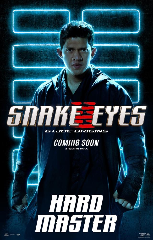 Bom tấn hành động Snakes Eyes: G.I.Joe Origins hé lộ tạo hình nhân vật của trai đẹp Henry Golding và dàn ninja cực ngầu - Ảnh 4.