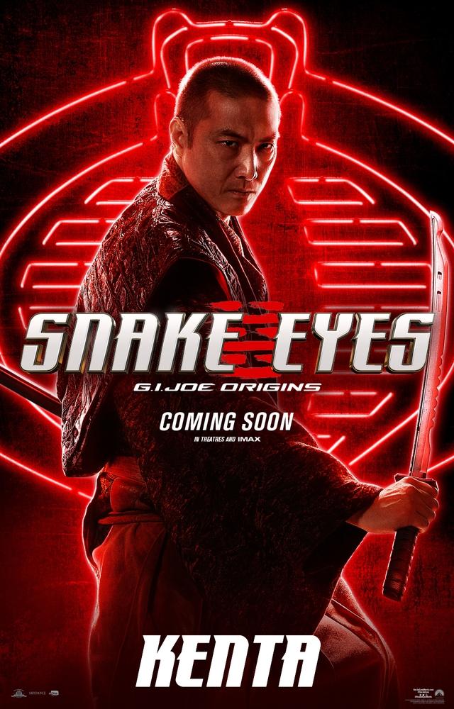 Bom tấn hành động Snakes Eyes: G.I.Joe Origins hé lộ tạo hình nhân vật của trai đẹp Henry Golding và dàn ninja cực ngầu - Ảnh 8.
