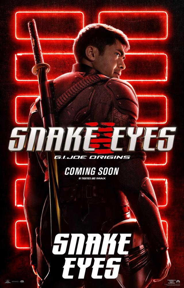 Bom tấn hành động Snakes Eyes: G.I.Joe Origins hé lộ tạo hình nhân vật của trai đẹp Henry Golding và dàn ninja cực ngầu - Ảnh 1.
