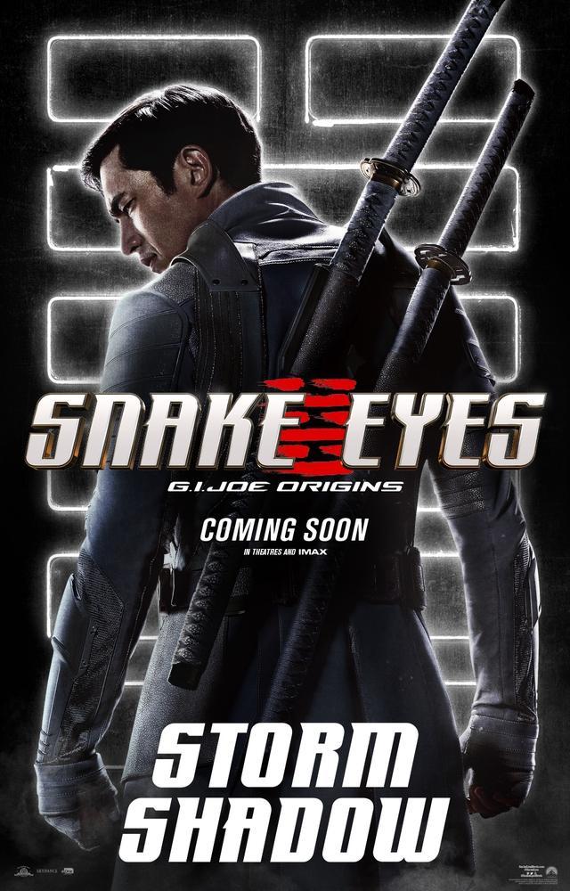 Bom tấn hành động Snakes Eyes: G.I.Joe Origins hé lộ tạo hình nhân vật của trai đẹp Henry Golding và dàn ninja cực ngầu - Ảnh 2.