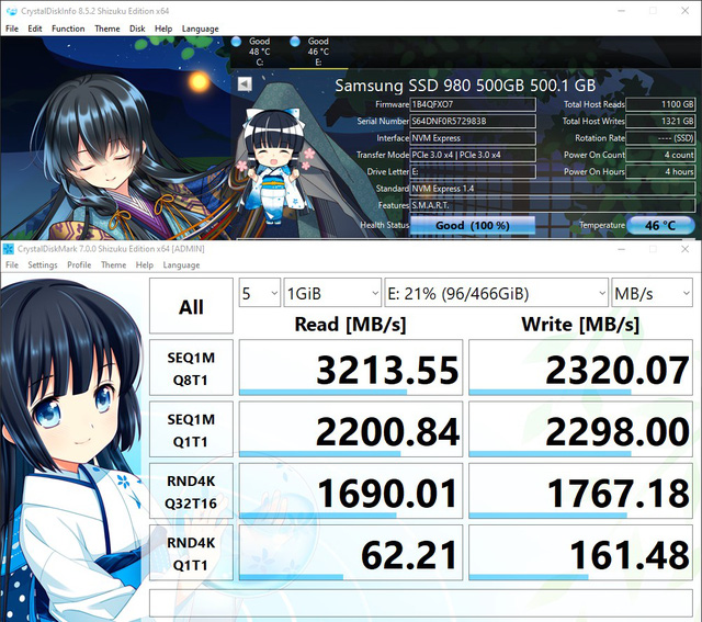 Review of Samsung 980 - Gen 3 PCIe SSD still shows a fast-paced class - Photo 5.