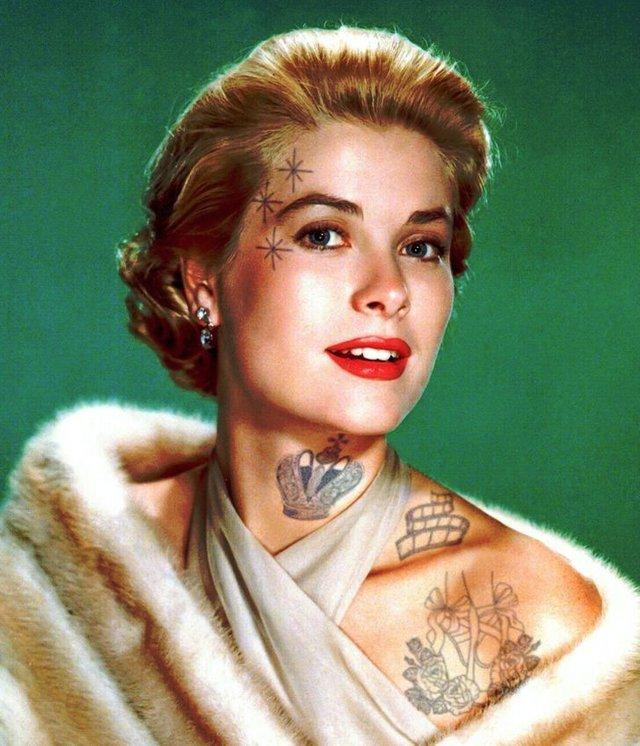 Marilyn Monroe và loạt sao Hollywood biến đổi thế nào khi có thêm những hình xăm? - Ảnh 10.