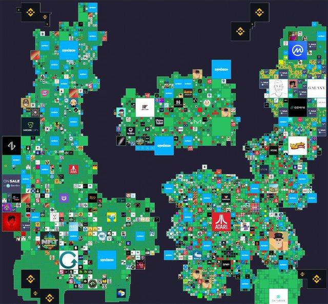 Mảnh đất ảo trong game được bán với giá hơn 21 tỷ đồng - Ảnh 2.