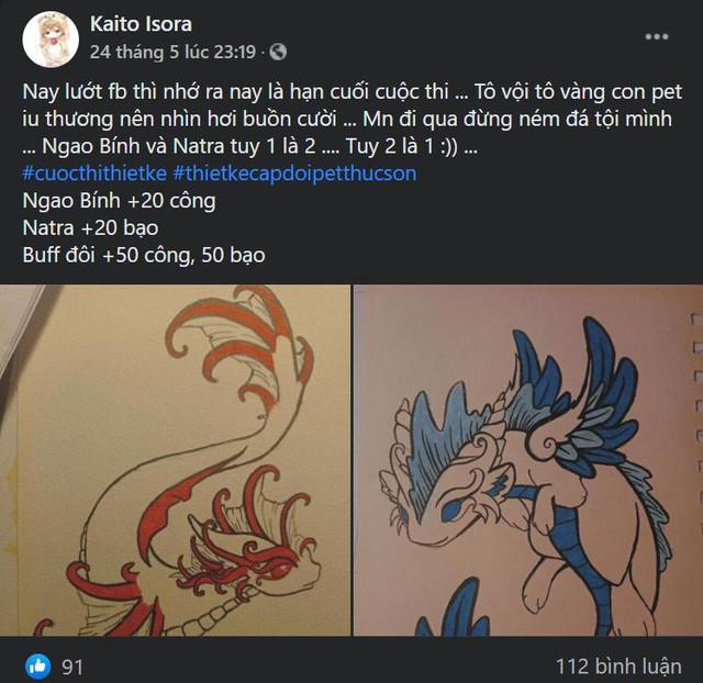 Rụng tim với Na Tra - Ngao Bính phiên bản... Pet do chính game thủ Việt thiết kế: Siêu cấp đáng yêu, độc quyền trong Thục Sơn 4D - Ảnh 8.