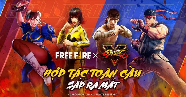 Hai huyền thoại Ryu và Chun-Li của Street Fighter xuất hiện trong Free Fire - Ảnh 1.