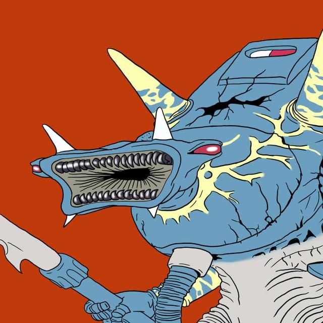 Tuổi thơ ùa về với bộ tranh vẽ Ô Rô Ku, thách bạn nhớ hết tên những quái vật này - Ảnh 23.