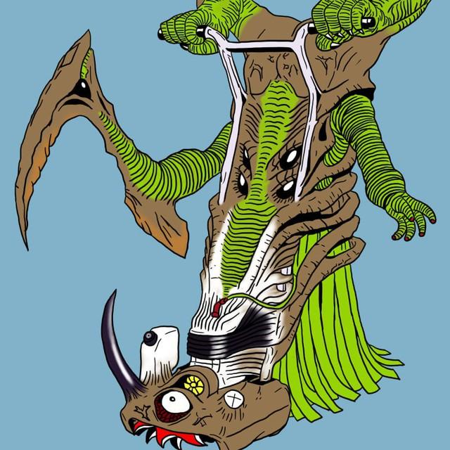Tuổi thơ ùa về với bộ tranh vẽ Ô Rô Ku, thách bạn nhớ hết tên những quái vật này - Ảnh 14.