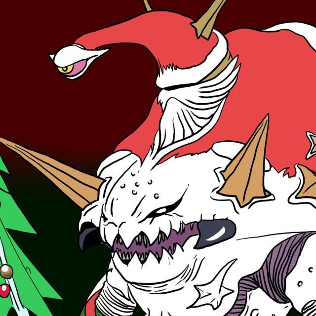 Tuổi thơ ùa về với bộ tranh vẽ Ô Rô Ku, thách bạn nhớ hết tên những quái vật này - Ảnh 16.