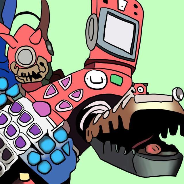 Tuổi thơ ùa về với bộ tranh vẽ Ô Rô Ku, thách bạn nhớ hết tên những quái vật này - Ảnh 6.