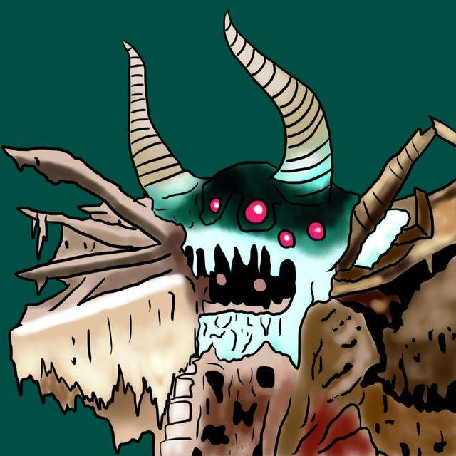 Tuổi thơ ùa về với bộ tranh vẽ Ô Rô Ku, thách bạn nhớ hết tên những quái vật này - Ảnh 5.