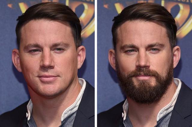 12 ngôi sao nổi tiếng trông thế nào khi nuôi râu và không để râu - Ảnh 12.