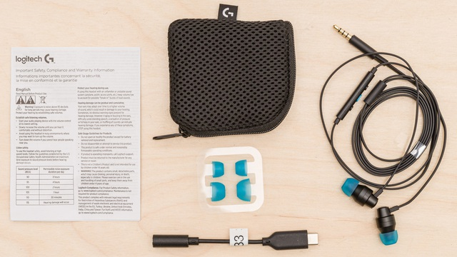 Đánh giá Logitech G333, tai nghe In-ear đa dụng, chơi game cực thích - Ảnh 1.