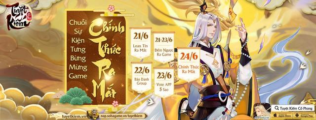 Bom tấn của năm Tuyệt Kiếm Cổ Phong closed beta quá thành công, chính thức Open Beta ngày 24/6 cùng loạt sự kiện siêu hot! - Ảnh 17.