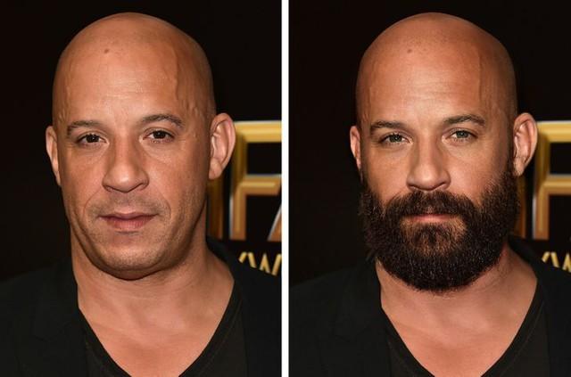 12 ngôi sao nổi tiếng trông thế nào khi nuôi râu và không để râu - Ảnh 2.
