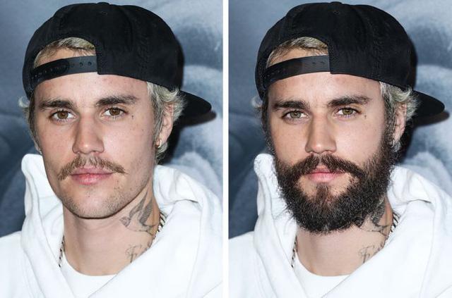 12 ngôi sao nổi tiếng trông thế nào khi nuôi râu và không để râu - Ảnh 4.