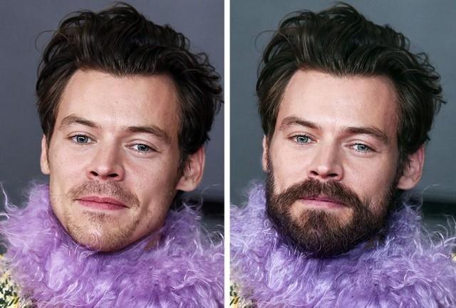 12 ngôi sao nổi tiếng trông thế nào khi nuôi râu và không để râu - Ảnh 11.