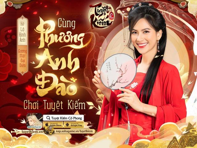 Ngọc nữ Phương Anh Đào trở thành Gương mặt đại diện của Tuyệt Kiếm Cổ Phong, mang đến loạt sự kiện khủng cho anh em game thủ! - Ảnh 1.